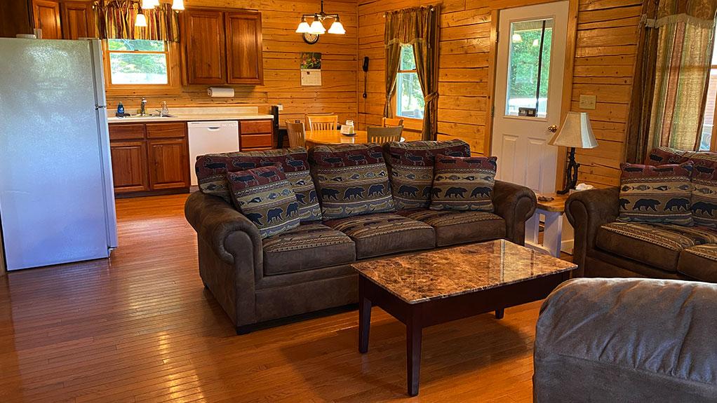 Country Cabin interior 1